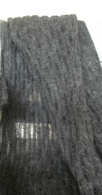 Antique Mohair Wrap