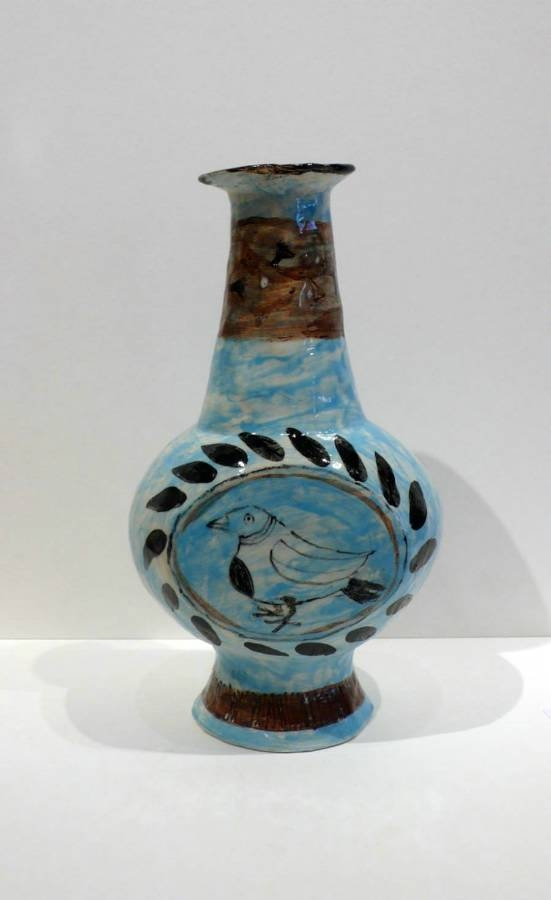 Claudia Rankin Vase with Magpie