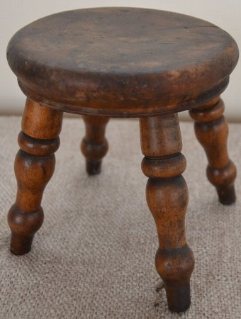 Antique Stool, salespersons examples or dolls house