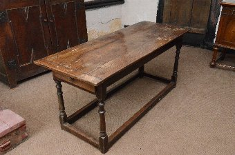 Antique Beautiful country style Oak Kitchen table