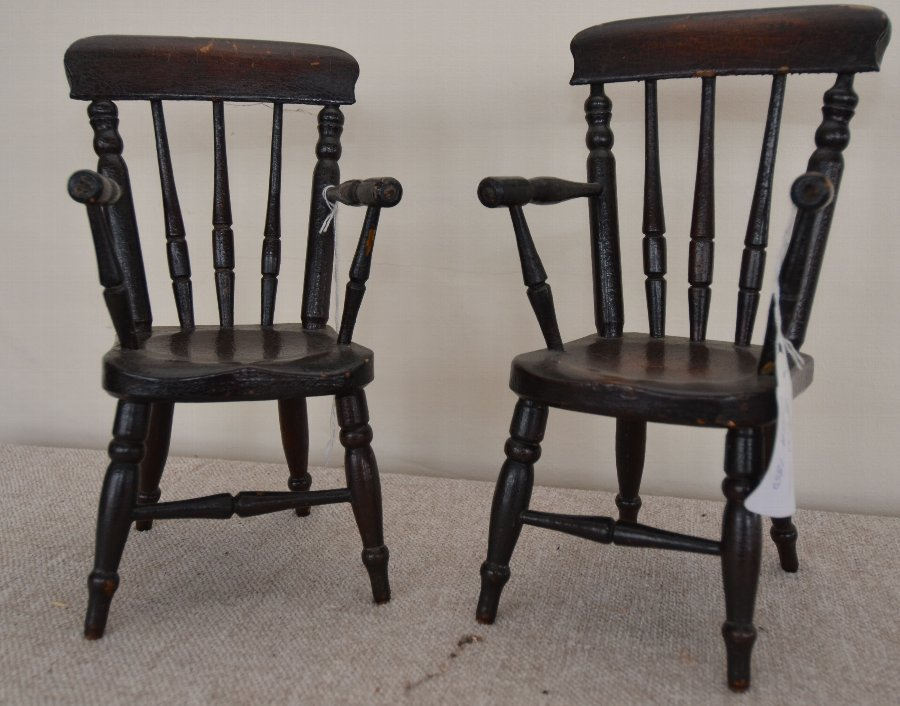 Chairs, salespersons sample or dolls house