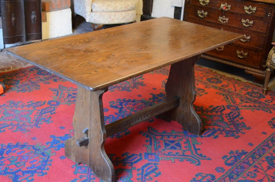 Jacobean style Oak refectory dining table