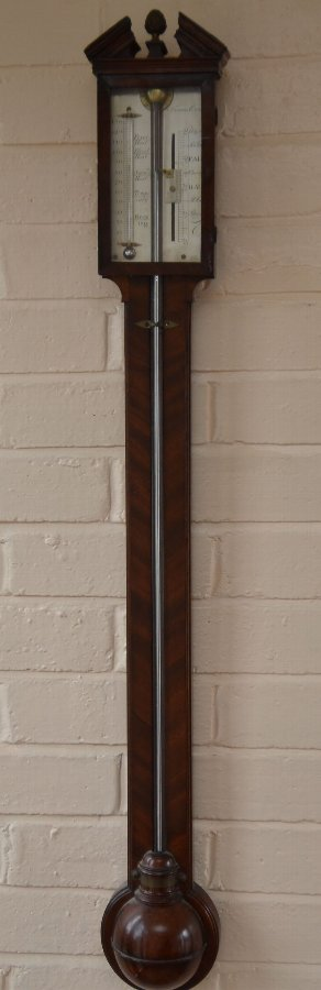 Antique Stick barometer by Francis Crou