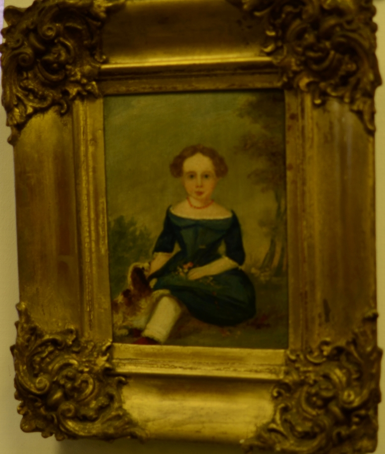 French Portrait of a girl