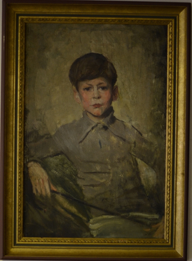Antique Portrait of a boy