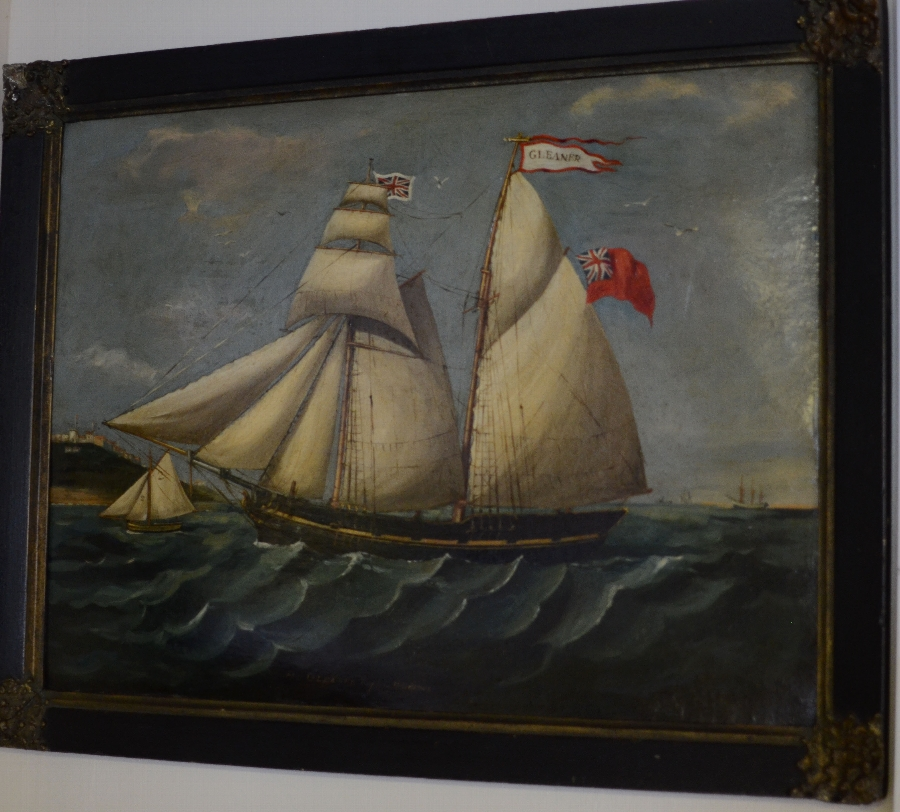 Painting of the Gleaner