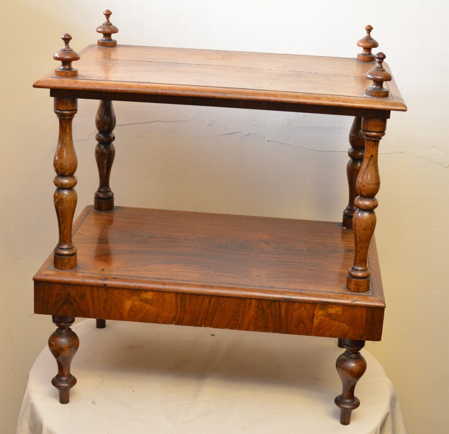 Antique Beautiful two tier table in rosewood