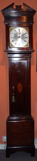 Antique Eight day longcase clock by Thomas Brookes of London circa 1790