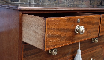 Antique Edwardian Mahogany Chest of Drawers