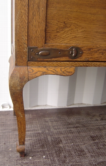 Antique Oak Dresser Art Nouveau