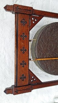 Antique Victorian Country House Dinner Gong