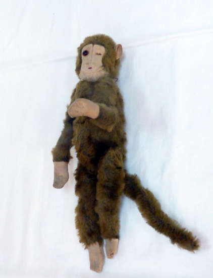 Antique Jointed Toy Monkey C1900