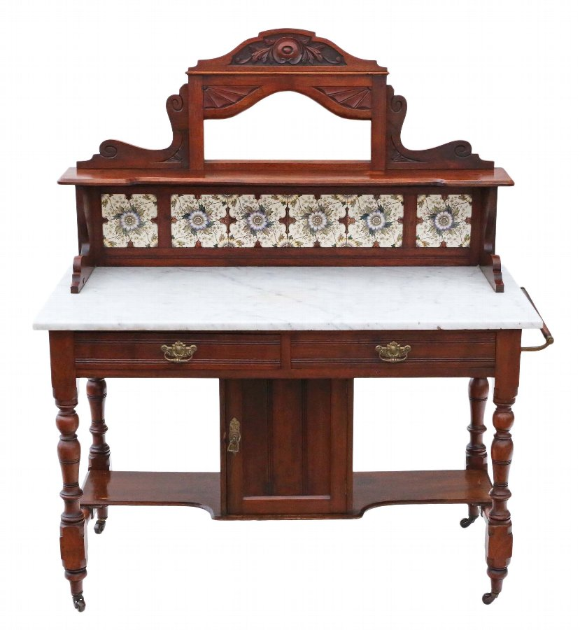 Mahogany marble washstand or dressing table 4535