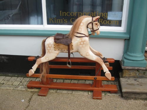 Antique Good quality child's rocking horse