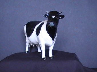 Antique BESWICK COW - CHAMPION CLAYBURY LEEGWATER - 1362A