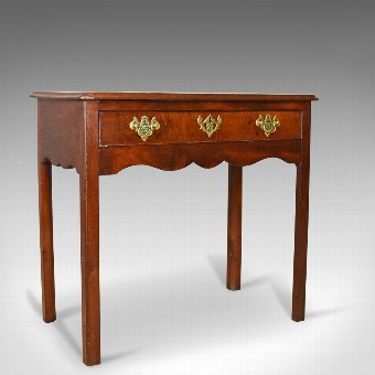 Antique Antique Lowboy, Mahogany, Late Georgian, English Side Table, Circa 1800