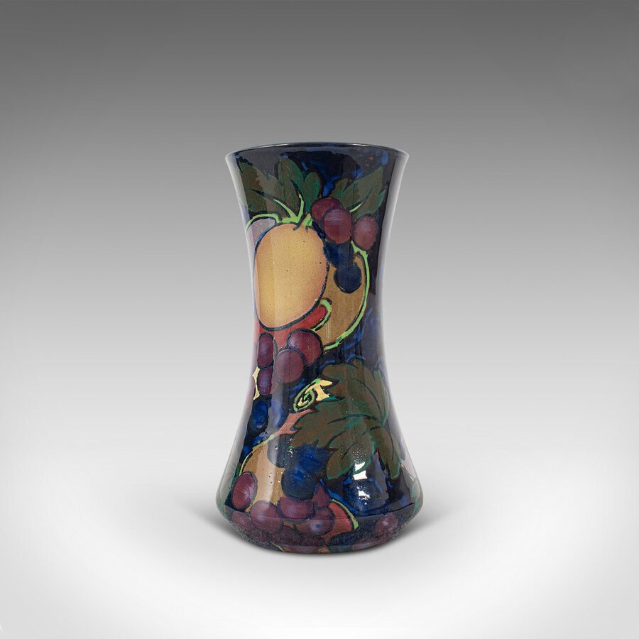 Antique Small Vintage Decorative Vase, English, Ceramic, Baluster, Display, Circa 1930