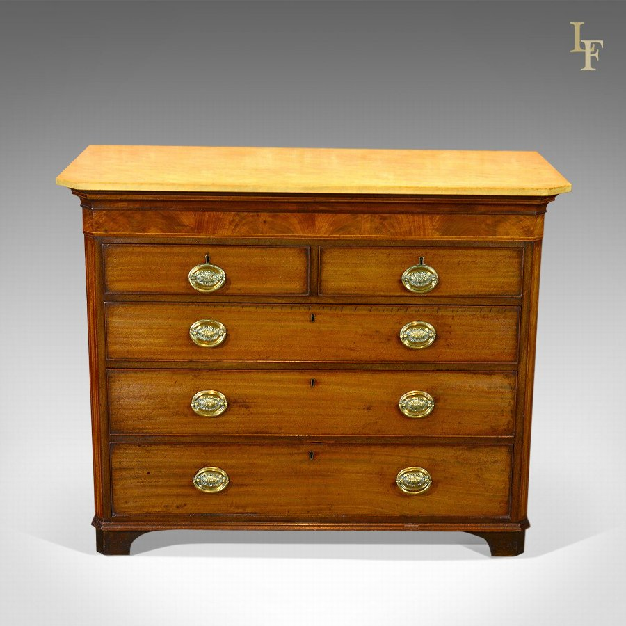 Antique Chest of Drawers, Georgian Commode c.1780
