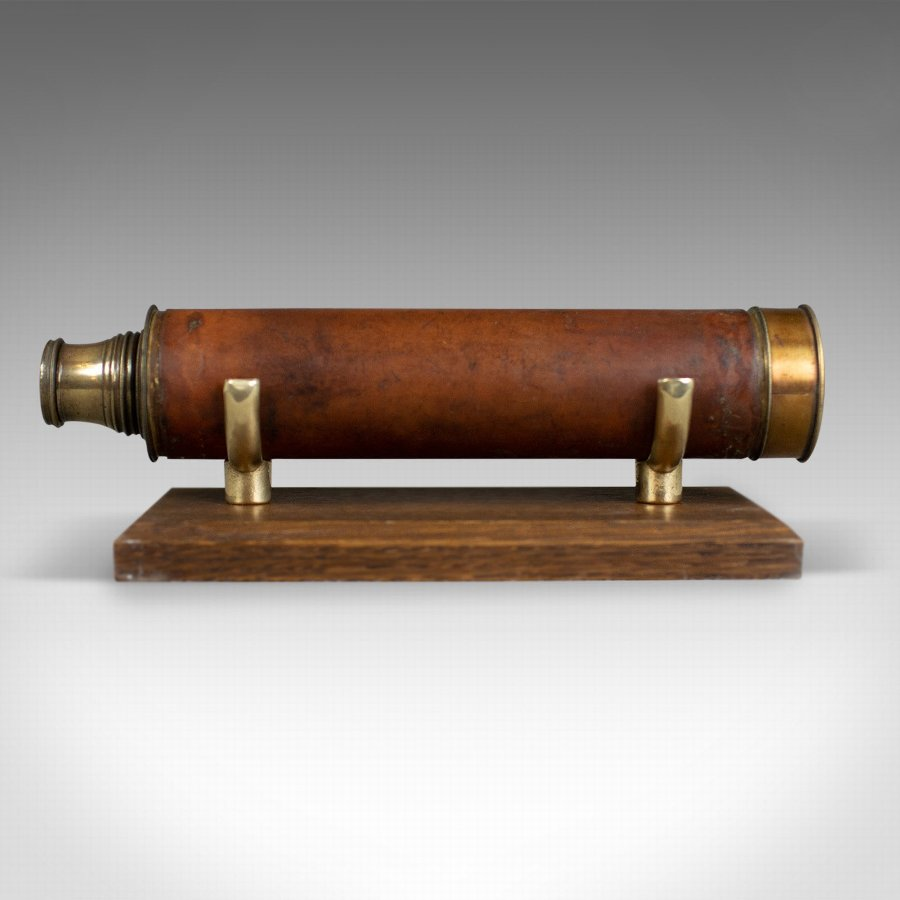 Antique, Telescope, Dolland, Three Draw, Terrestrial, Astronomical Circa 1830
