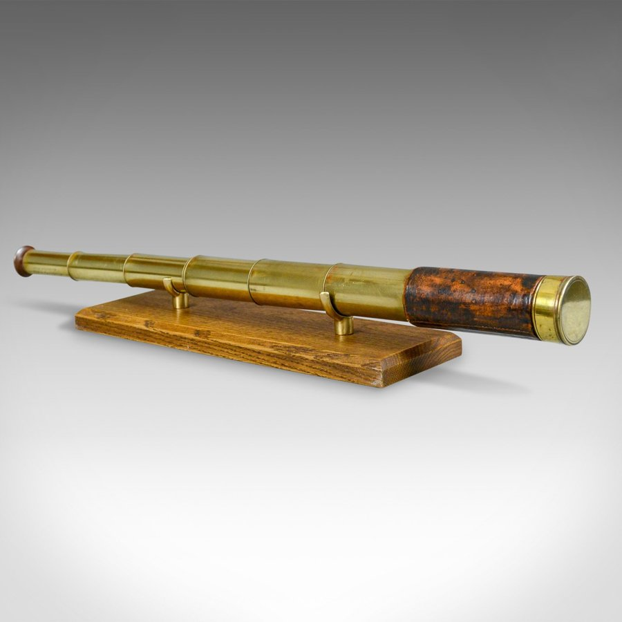 Antique Seven Draw Pocket Telescope, J.B. Dancer, Manchester, Circa 1845