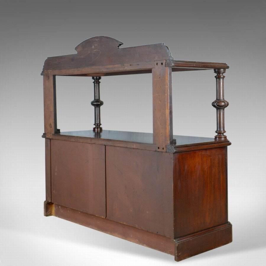 Antique Antique Buffet Sideboard, English, Victorian, Mahogany, Server, Circa 1880
