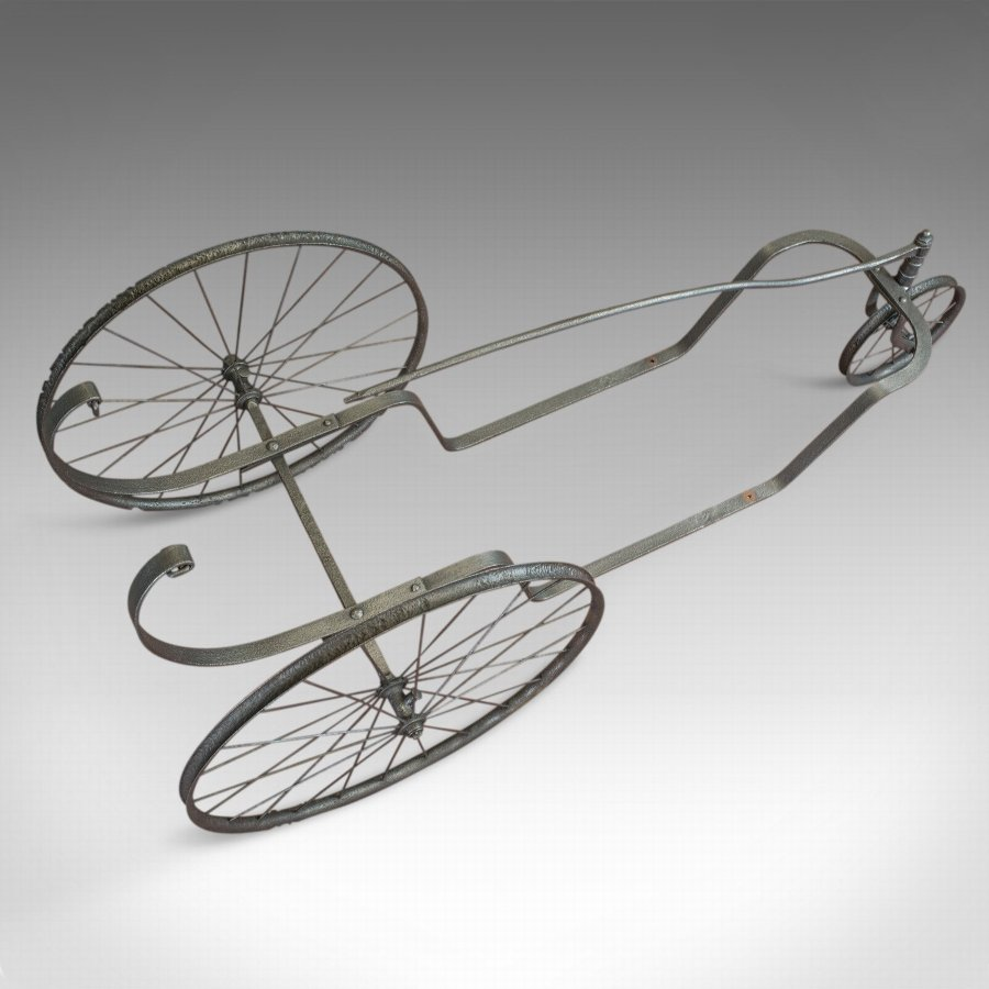 Antique Antique Bath Chair, Garden Planter, English, Iron, Late 19th Century, Circa 1900
