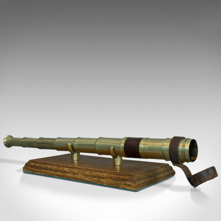Antique Pocket Telescope, 6 Draw, English, Compact, Negretti and Zambra, C.1860