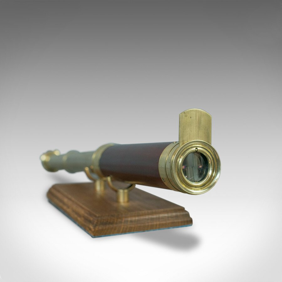 Antique Antique Telescope, 2 Draw Refractor, Terrestrial, Astronomical, English, C.1810