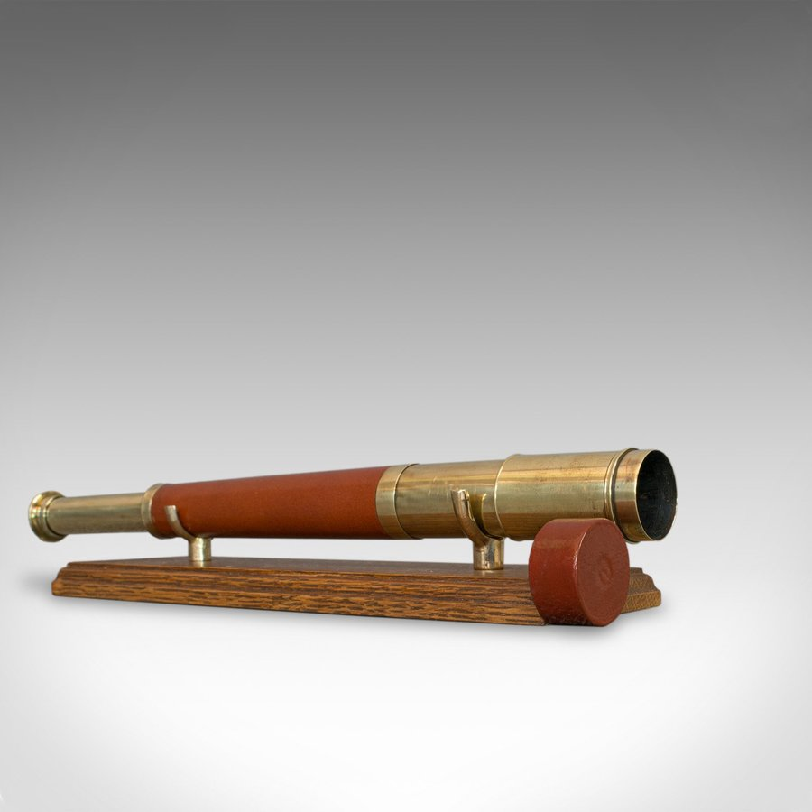Antique Telescope, English, Single Draw, Terrestrial, Astronomical, Circa 1790