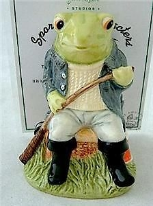 Antique Beswick Limited Edition Fly Fishing Frog Figure SC1