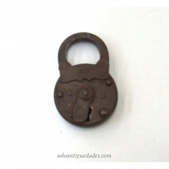 Antique Circular padlock