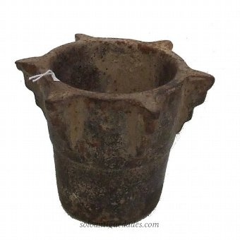 Antique Pestle made of wrought iron