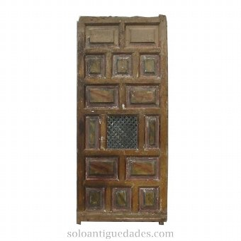 Antique Ancient door confessional
