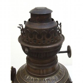 Antique Bronze lamps