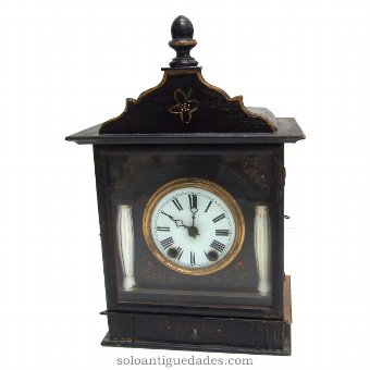 Antique Black Forest Clock type neoclassical.