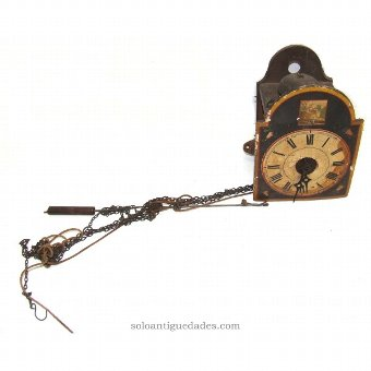 Antique Watch shoplifter type. Picture of manners.