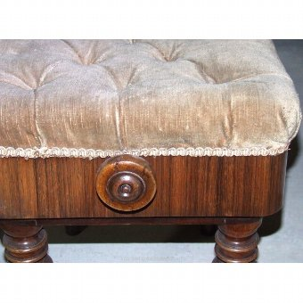 Antique Former Victorian bench