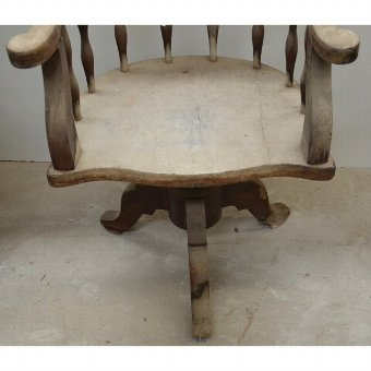 Antique Former Victorian desk chair