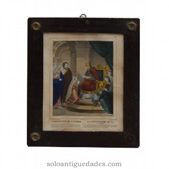 "Antique ""The Presentation of Our Lady in the Temple"""