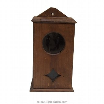 Antique Collection box vertically