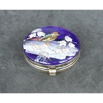 Antique Box silver and crystal collection