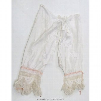 Antique Traditional Bloomers