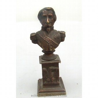 Antique Bronze male bust