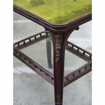 Antique Cover coffee table perciopelo