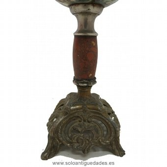 Antique Beautiful Central European lamp