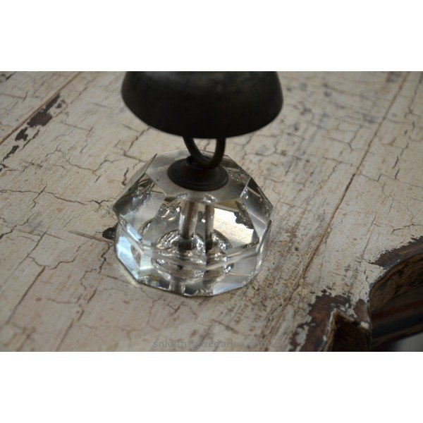 Antique Knock glass foot