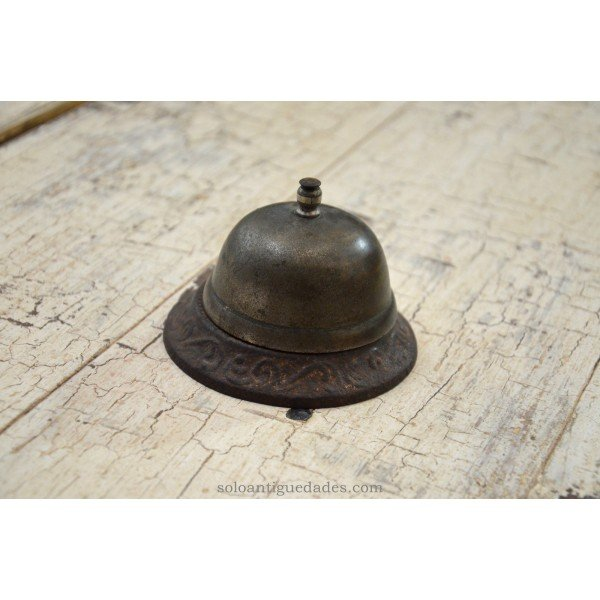 Antique Flared bell decorated with reliefs