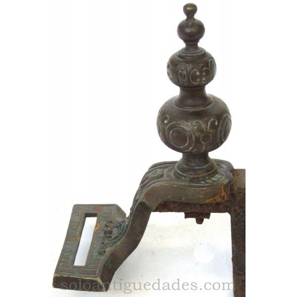 Antique Andiron
