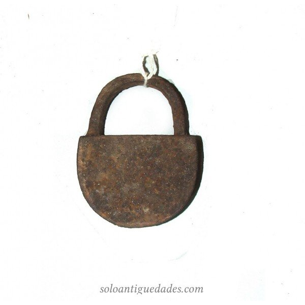 Antique Iron simple padlock