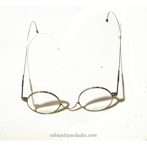 Antique Metal-rimmed glasses